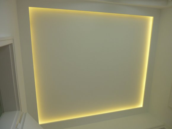 selbstgebauter Lichtrand