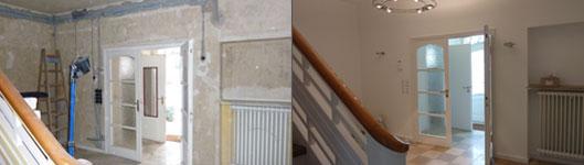 Renovierungsarbeiten Bonn in einer Villa
